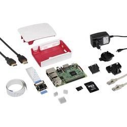 Raspberry Pi® 3 B RB-Cam-Set 1 GB 4 x 1.2 GHz uklj. modul kamere, Uklj. napajanje, Uklj. Noobs OS, uklj. HDMI kabel , uklj.