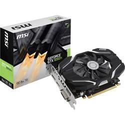 MSI Grafična kartica Nvidia GeForce GTX1050 Ti Overclocked 4 GB GDDR5-RAM PCIe x16 HDMI, DVI, Display Port