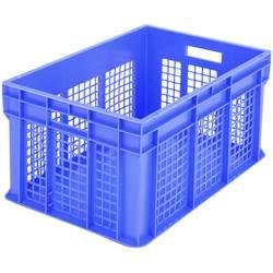 1657967 Classic škatla za shranjevanje z mrežico primeren za prehrano (D x Š x V) 600 x 400 x 315 mm modra 1 kos
