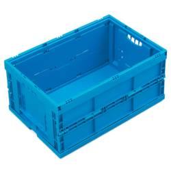 1657997 Škatla za shranjevanje z mrežico Primeren za prehrano (D x Š x V) 600 x 400 x 260 mm Modra 1 KOS