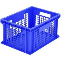 1658163 Classic škatla za shranjevanje z mrežico primeren za prehrano (D x Š x V) 400 x 300 x 215 mm modra 1 kos