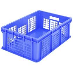 1658164 Classic škatla za shranjevanje z mrežico primeren za prehrano (D x Š x V) 600 x 400 x 215 mm modra 1 kos