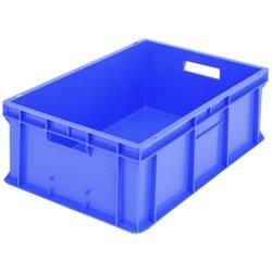 1658166 Classic škatla za shranjevanje z mrežico primeren za prehrano (D x Š x V) 600 x 400 x 215 mm modra 1 kos