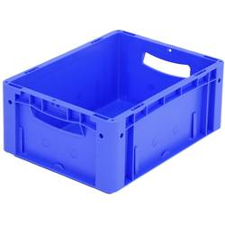 1658177 Ergonomic škatla za shranjevanje z mrežico primeren za prehrano (D x Š x V) 400 x 300 x 170 mm modra 1 kos