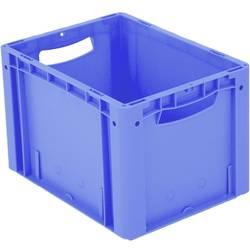 1658179 Ergonomic škatla za shranjevanje z mrežico primeren za prehrano (D x Š x V) 400 x 300 x 270 mm modra 1 kos