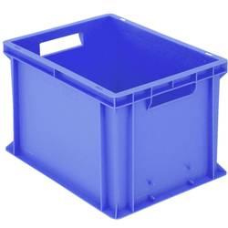 1658346 Classic škatla za shranjevanje z mrežico primeren za prehrano (D x Š x V) 400 x 300 x 265 mm modra 1 kos