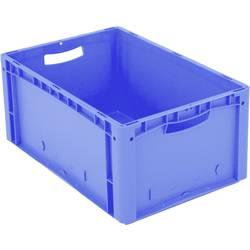 1658362 Ergonomic škatla za shranjevanje z mrežico primeren za prehrano (D x Š x V) 600 x 400 x 270 mm modra 1 kos
