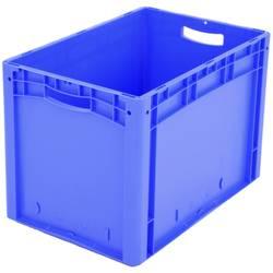 1658559 Ergonomic škatla za shranjevanje z mrežico primeren za prehrano (D x Š x V) 600 x 400 x 420 mm modra 1 kos