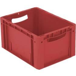 1658560 Ergonomic Škatla za shranjevanje z mrežico Primeren za prehrano (D x Š x V) 400 x 300 x 220 mm Rdeča 1 KOS