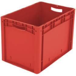 1658561 Ergonomic Škatla za shranjevanje z mrežico Primeren za prehrano (D x Š x V) 600 x 400 x 420 mm Rdeča 1 KOS