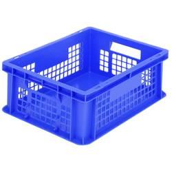 1658741 Classic škatla za shranjevanje z mrežico primeren za prehrano (D x Š x V) 400 x 300 x 153 mm modra 1 kos