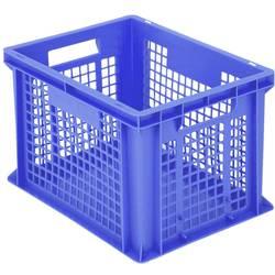 1658742 Classic škatla za shranjevanje z mrežico primeren za prehrano (D x Š x V) 400 x 300 x 265 mm modra 1 kos