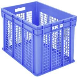 1658745 Classic škatla za shranjevanje z mrežico primeren za prehrano (D x Š x V) 600 x 400 x 415 mm modra 1 kos
