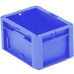 1658760 Ergonomic škatla za shranjevanje z mrežico primeren za prehrano (D x Š x V) 200 x 150 x 120 mm modra 1 kos