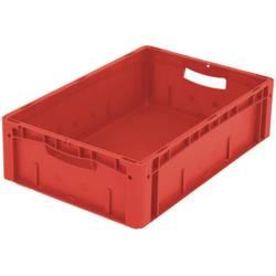 1658763 Ergonomic Škatla za shranjevanje z mrežico Primeren za prehrano (D x Š x V) 600 x 400 x 170 mm Rdeča 1 KOS