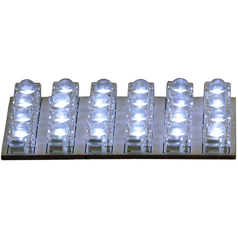 HP Autozubehör 26284 LED notranja svetilka 12 V LED (D x Š) 65 mm x 35 mm