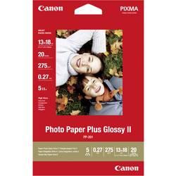 Foto papir Canon Photo Paper Plus Glossy II PP-201 2311B018 13 x 18 cm 265 g/m 20 listov sijoč