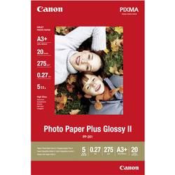 Foto papir Canon Photo Paper Plus Glossy II PP-201 2311B021 DIN A3+ 265 g/m 20 listov sijoč