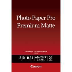 Foto papir Canon Photo Paper Pro Premium PM-101 8657B007 DIN A3+ 210 g/m 20 listov mat
