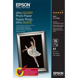 Foto papir Epson Ultra Glossy Photo Paper C13S041927 300 g/m 15 listov visoko sijoč