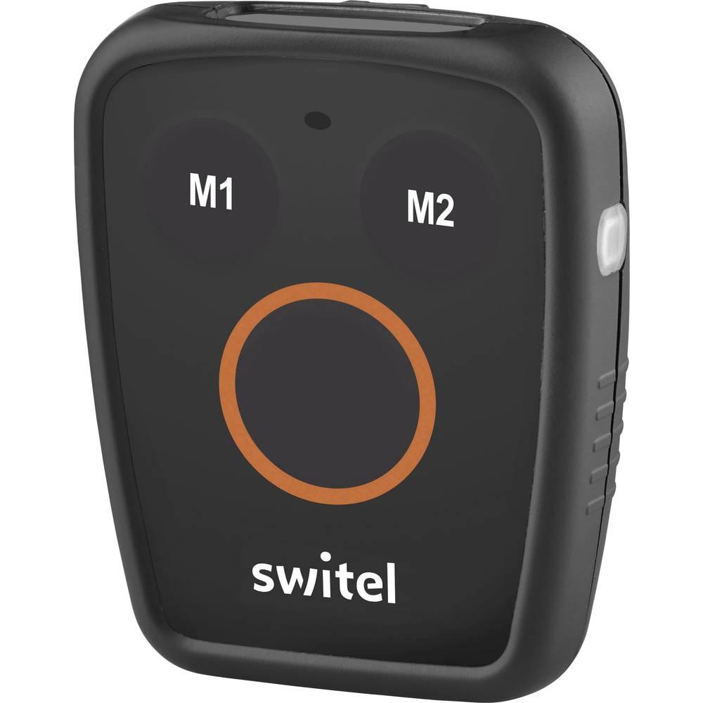 Switel SOS CT8 GPS sledilnik, osebni sledilnik, črne, oranžne barve