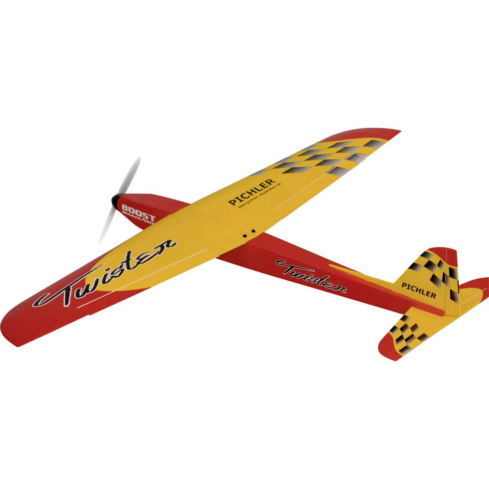 Pichler Twister (kombo komplet) RC model motornega letala na daljinsko vodenje PNP 1400 mm