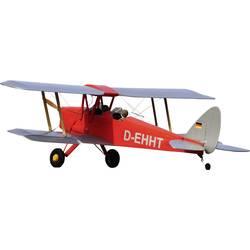 VQ Tiger Moth rdeče barve RC model motornega letala na daljinsko vodenje ARF 1400 mm