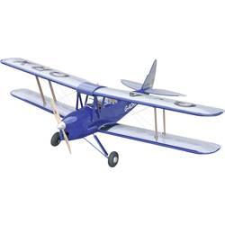 VQ Tiger Moth modre barve RC model motornega letala na daljinsko vodenje ARF 1400 mm