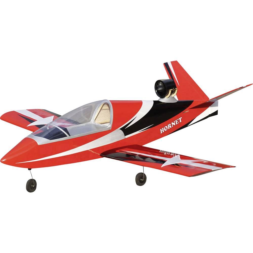 VQ Hornet EDF rdeče barve RC model reaktivnega letala na daljinsko vodenje ARF 1400 mm
