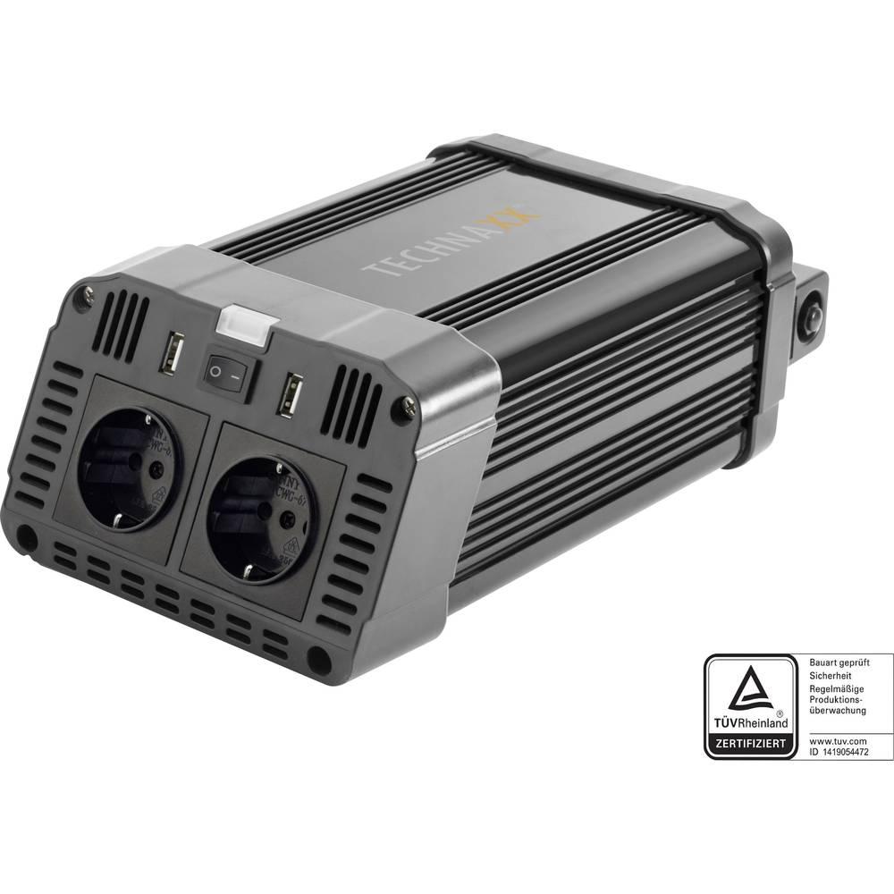 Technaxx razsmernik TE16 1200 W 12 V/DC-230 V/AC