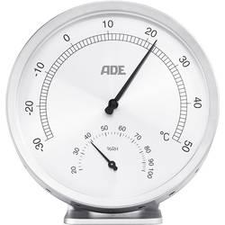 ADE WS 1813 termo/higrometer srebrna