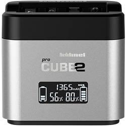 Hähnel Pro Cube 2, Canon 10005700 polnilnik za kamere Primeren akumulator litijev-ionski, nikelj-metal-hidridni