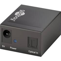 2 Port Toslink-Splitter Goobay 58974 LED-display Svart