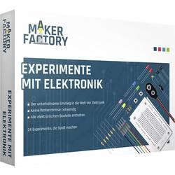 Paket za učenje MAKERFACTORY Experimente mit Elektronik