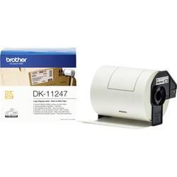 Brother Etikete v roli 103 x 164 mm Papir Bela 180 KOS Trajno DK11247 Naslovne nalepke, Univerzalna etiketa