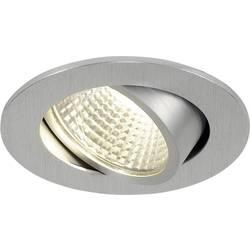 SLV New Tria 1 Set 113956 LED vgradna svetilka 3 W Topla bela Aluminij (krtačen)