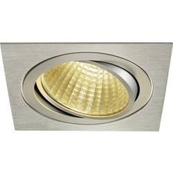 SLV New Tria 1 Set 114286 LED vgradna svetilka 25 W Topla bela Aluminij (krtačen)
