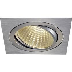 SLV New Tria 1 Set 114296 LED vgradna svetilka 25 W Topla bela Aluminij (krtačen)