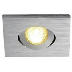 SLV New Tria Mini Set 114406 LED vgradna svetilka 4.4 W Topla bela Aluminij (krtačen)