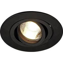 Vgradna svetilka Halogenka, LED GU10 50 W SLV 113440 New Trial XL Črna (mat)