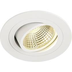 SLV New Tria 113871 LED vgradna svetilka 6 W Topla bela Bela (mat)