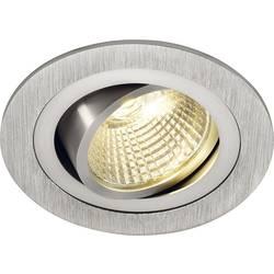 SLV New Tria 113876 LED vgradna svetilka 6 W Topla bela Aluminij (krtačen)