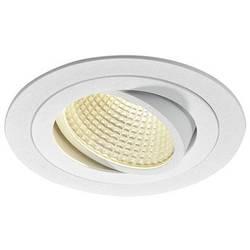 SLV New Tria 1 Set 114231 LED vgradna svetilka 12 W Topla bela Bela (mat)