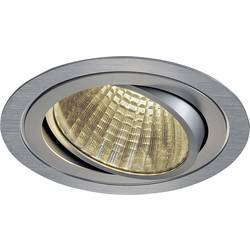 SLV New Tria 1 Set 114276 LED vgradna svetilka 25 W Topla bela Aluminij (krtačen)