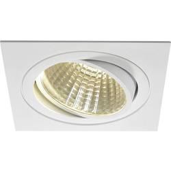 SLV New Tria 1 Set 114291 LED vgradna svetilka 25 W Topla bela Bela (mat)