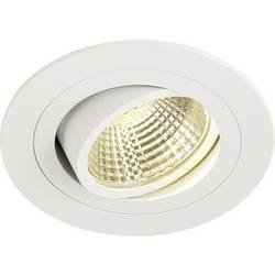 SLV New Tria 113901 LED vgradna svetilka 6 W Topla bela Bela (mat)