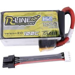Baterijski paket (LiHv) za modelarstvo 15.2 V 1550 mAh Broj ćelija: 4 100 C Tattu Softcase XT60