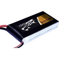 LiPo akumulatorski paket za modele 11.1 V 8000 mAh Broj ćelija: 3 15 C Tattu Softcase EC5