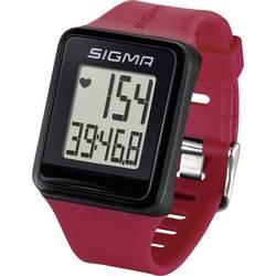 Sigma iD.GO merilec srčnega utripa s pasom za okoli prsi rdeča