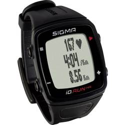 Sigma iD.RUN HR sledilniki aktivnosti črna
